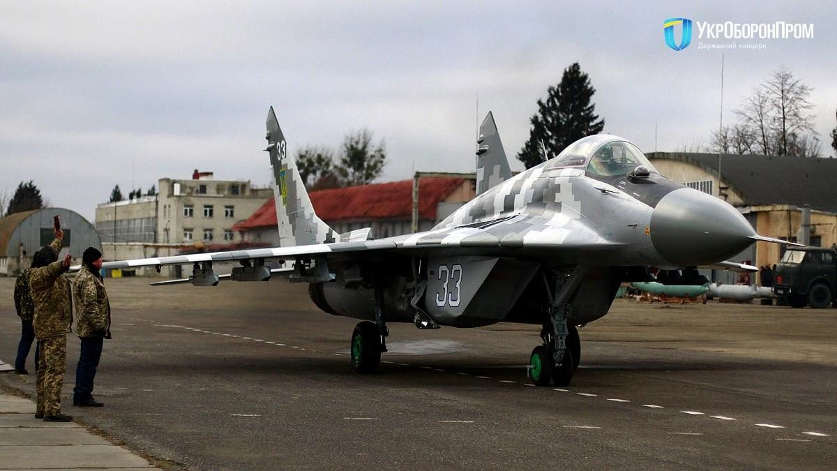 40-а бригада отримала модернізований МіГ-29МУ1