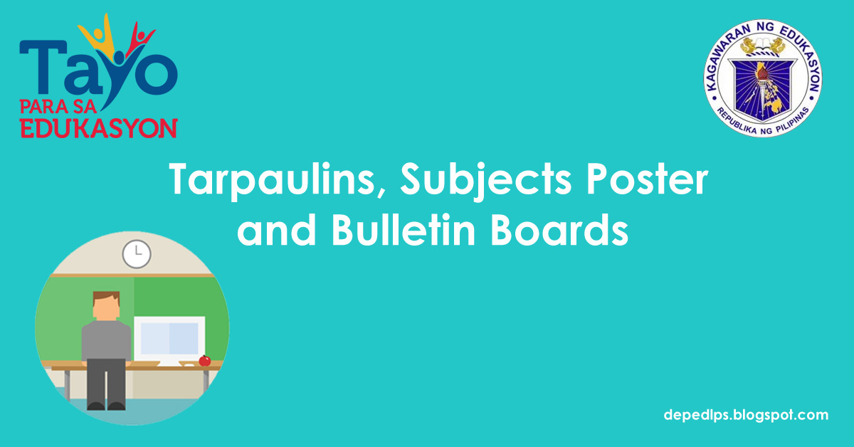 Tarpaulins subjects poster bulletin boards deped lps tarpaulins subjects poster bulletin boards altavistaventures