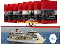 Logo ''Immagina Una Vita Più'': vinci gratis 50 cofanetti Boscolo,  1 Crociera Costa e centinaia di Voucher