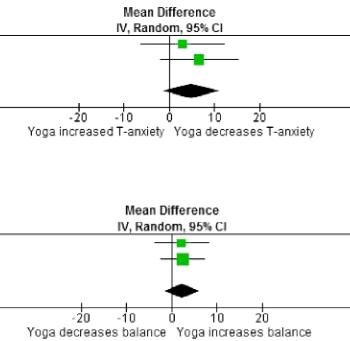 図:ヨーガの脳卒中効果