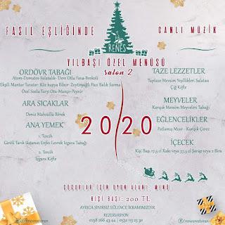 Renes Balık Restaurant Denizli Yılbaşı Programı 2020
