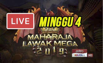 Live Streaming Maharaja Lawak Mega 22.11.2019.