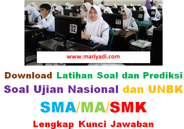 Download Latihan Soal Ujian Nasional Bahasa Indonesia