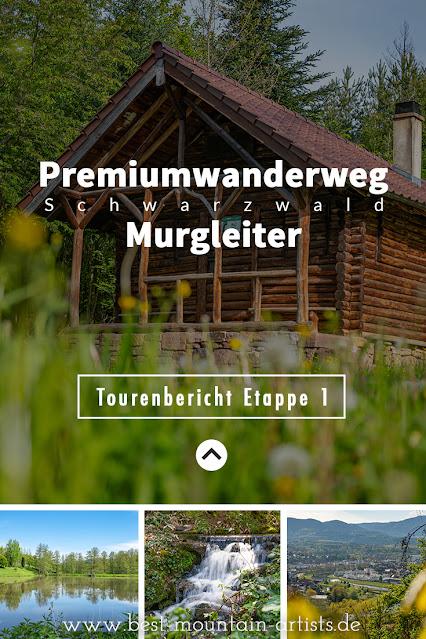 Premiumwanderweg Murgleiter | Etappe 1 von Gaggenau nach Gernsbach | Wandern nördlicher Schwarzwald 32