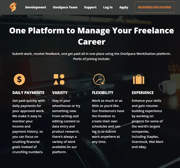 Freelance Jobs At OneSpace