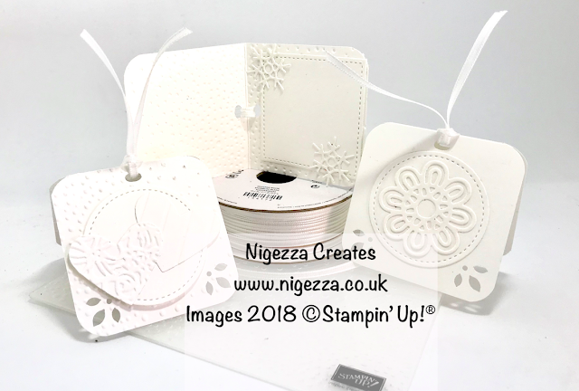 Tone On Tone Small Gift Tags Using Stampin' Up!® Products Nigezza Creates