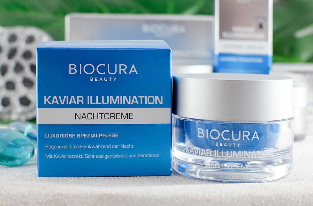 Biocura Kaviar Illumination Nachtcreme, wie gut ist die Nachtcreme von Aldi