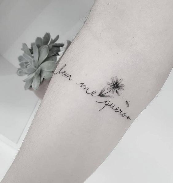 10 inspirações de frases para tatuagens