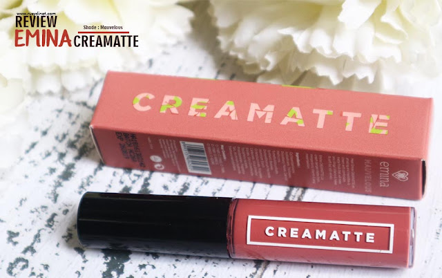 Review Emina Creamatte Shade Mauvelous