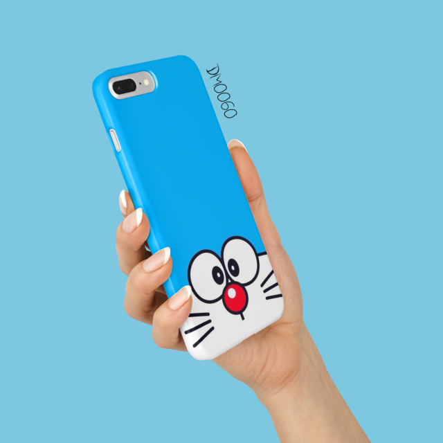 case wajah doraemon