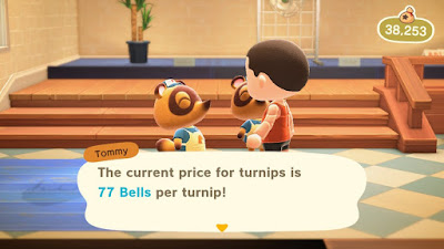 Animal Crossing Turnip Offer