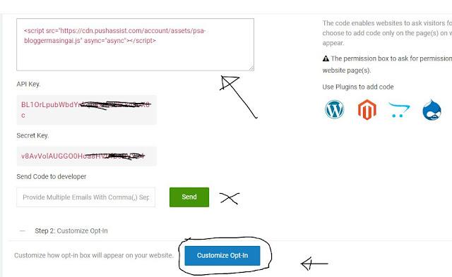 Cara Memasang Plugin Browser Push Notification Di Blog Blogger dengan mudah akan saya bagi Cara Memasang Plugin Browser Push Notification Di Blog