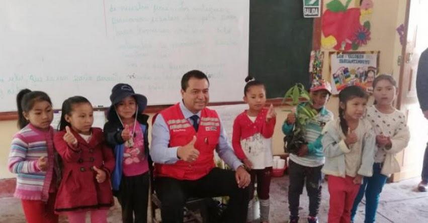 Planta de acopio abastece de hortalizas a escuelas de Huamanga donde se brinda la alimentación escolar de Qali Warma - www.qaliwarma.gob.pe