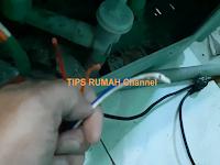 Memperbaiki Sendiri Kabel Mesin Cuci yang Putus Oleh Gigitan Tikus