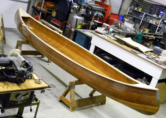 Canoe #02 Gunwales