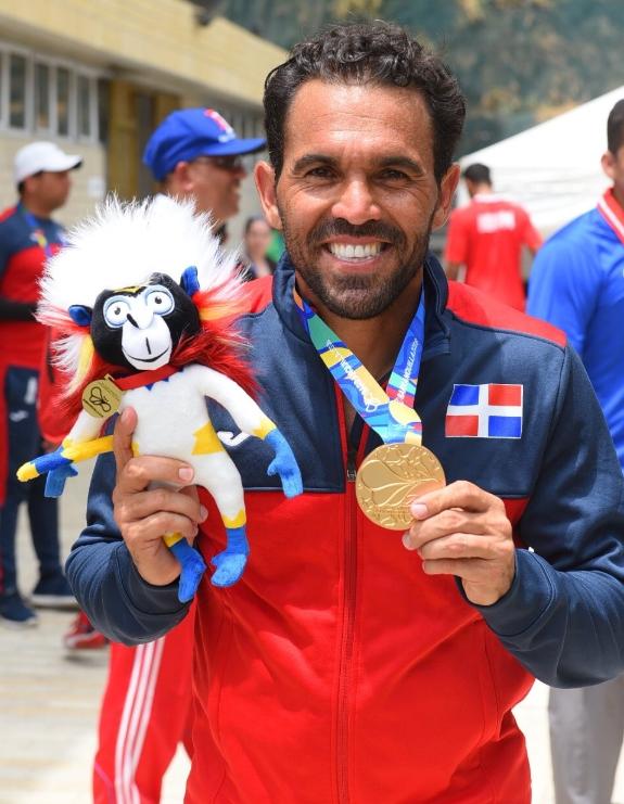 El tenista dominicano Víctor Estrella
