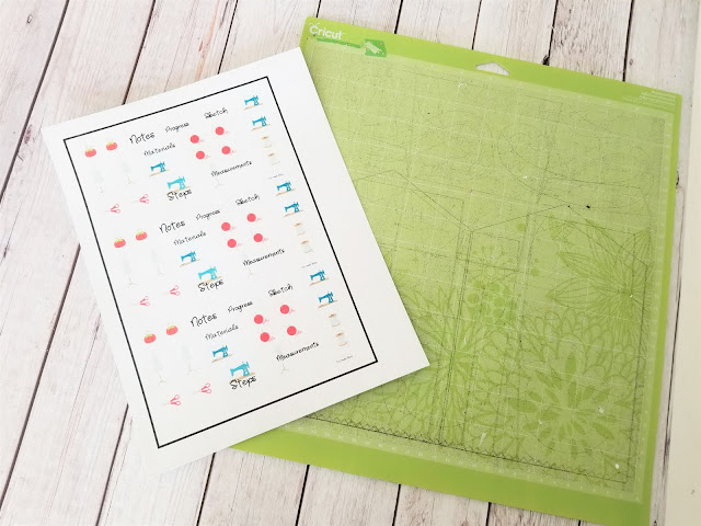 how to make stickers on cricut