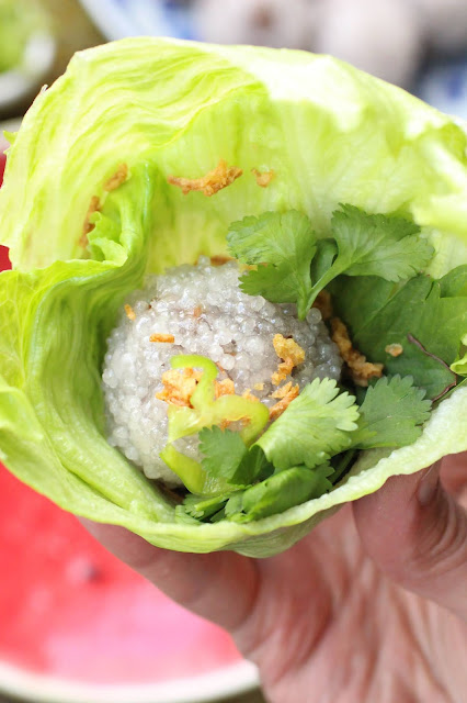 sakoo yut sai recette laotienne