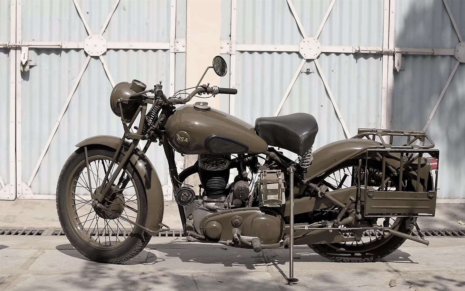 A Fine Vintage The 1941 BSA M20