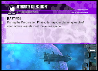 Environment Card: Alternate Rules: Drift