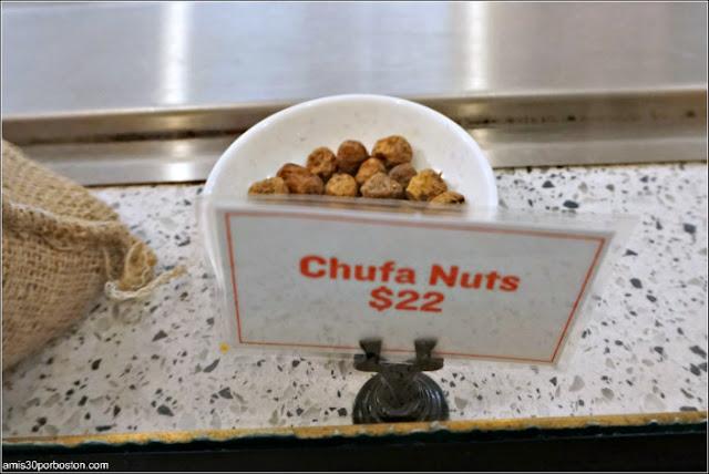 Chufas en el Puesto de Helados del Mercado Little Spain en Nueva York
