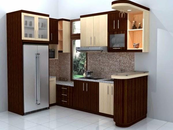 Contoh dapur sederhana dalam rumah masakini