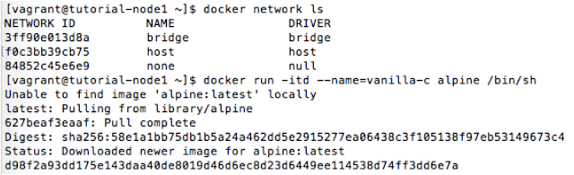 Networks in Docker