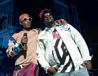 Wande Coal Shuts Down His Sold Out Show As Wizkid Makes An Appearance