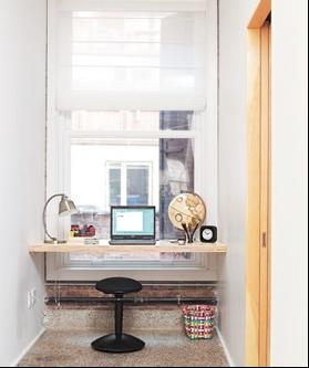 escrivaninha de prateleira
