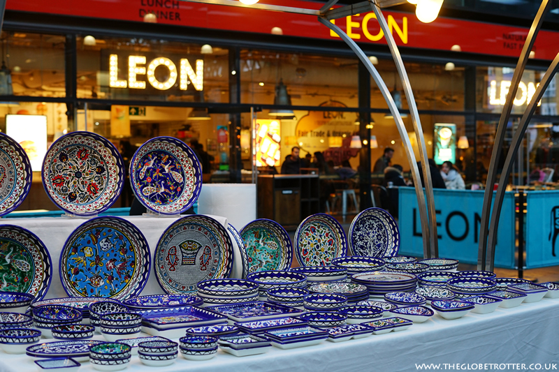 Beautiful bowls at Old Spitalfields Market