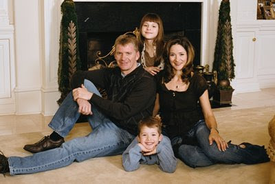 The Burton Family (Jeff, Paige, Harrison, & Kim)