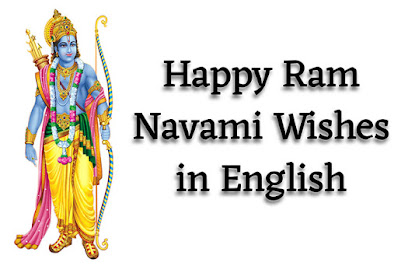 Happy Ram Navami Wishes in English