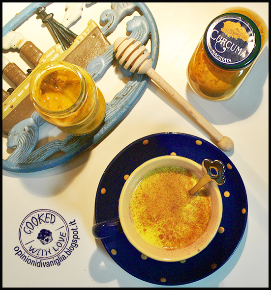 Ricetta Golden Milk latte curcuma