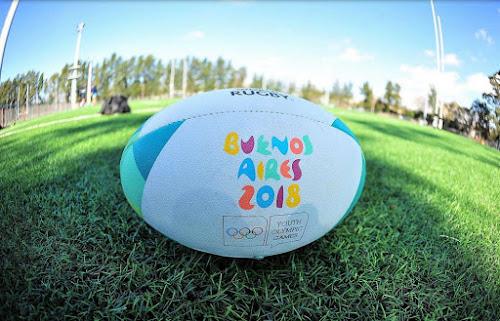 Pelota oficial de rugby para los Juegos Olímpicos de la Juventud #BuenosAires2018