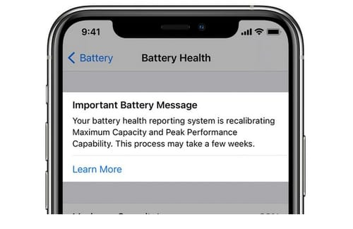 IOS 14.5 recalibrates the iPhone 11 battery