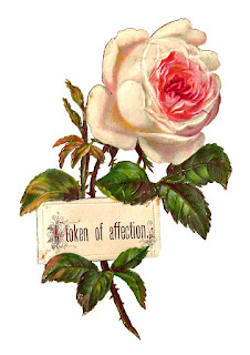 printable rose label