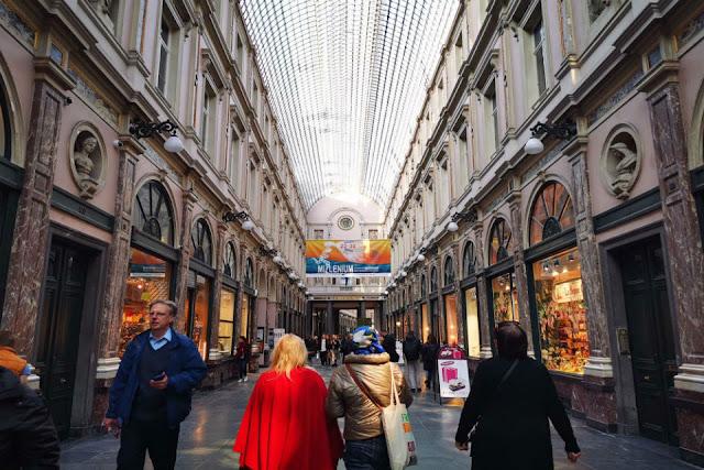 Phố Galeries Royales Saint, Bỉ