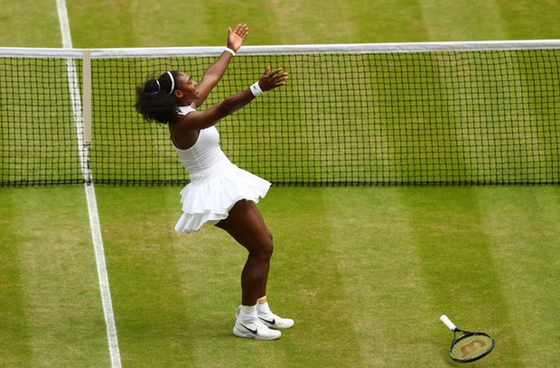 Serena Williams Claims her 7th Wimbledon Women Singles Title