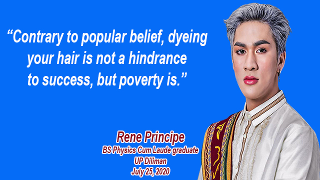 Rene Principe - Poverty is a hindrance to success