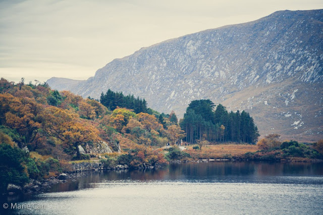 Autumn colours at Glenveagh Lough National Park in Co. Donegal, Ireland