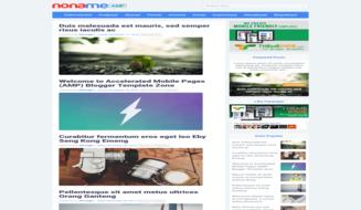 Template Blogger Noname AMP Premium