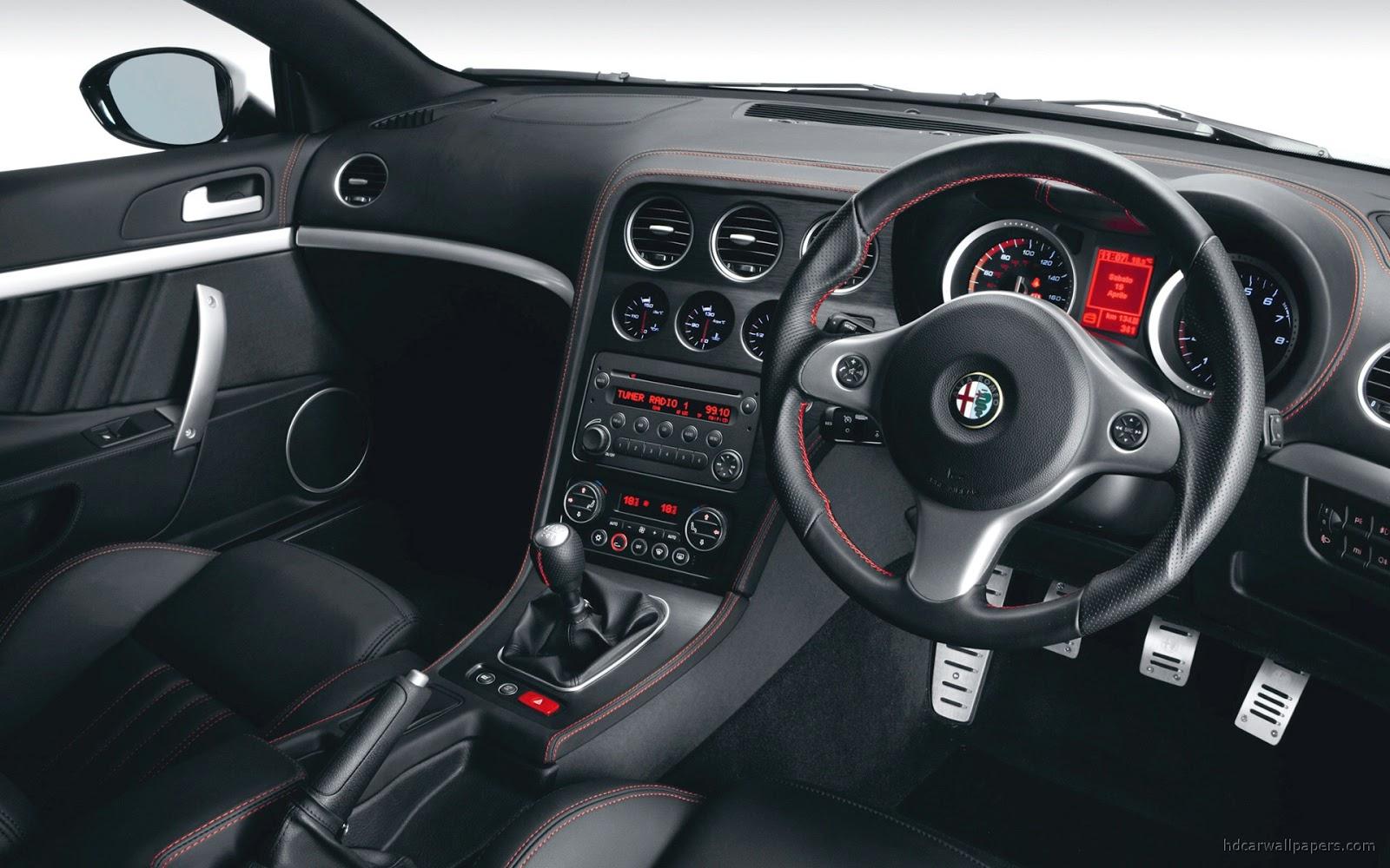 Alfa Romeo Brera S Interior