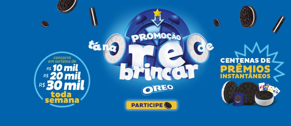 Nova Promoção OREO 2021 Tá na OREO de Brincar