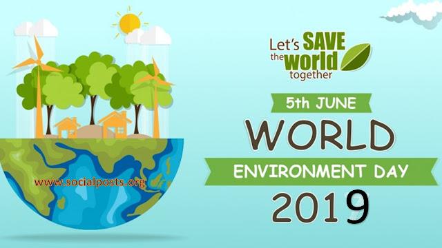 Environment Day Slogan 2019