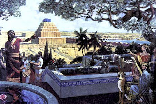 City of Babylon on the Euphrates
