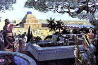 The city of Babylon in its prime