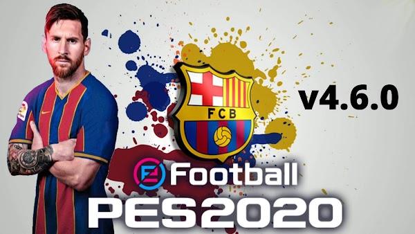 eFootball PES 2020 v4.6.0 Patch Barcelona Download