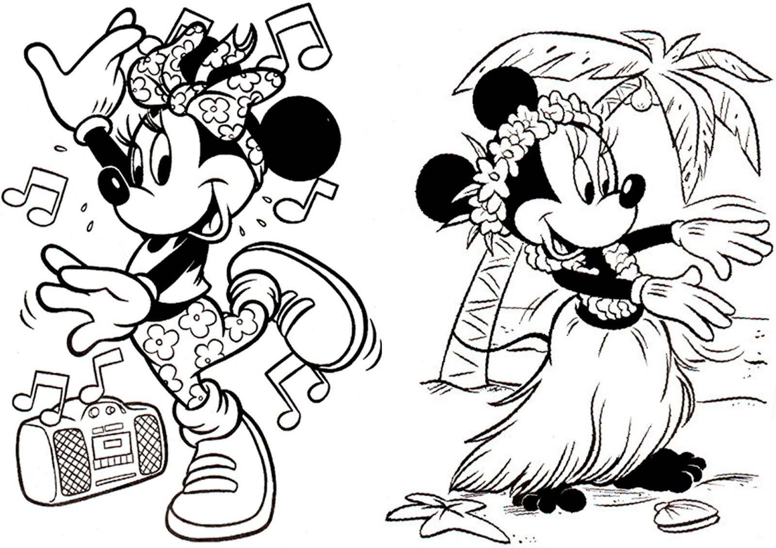 Livro De Colorir Minnie Montando Minha Festa