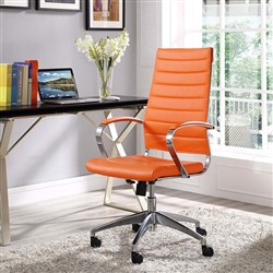 Modway Jive High Back Ribbed Office Chair