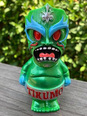 Tikumo Super Tiki Sumo V.2 Vinyl Figure by Gerald Okamura